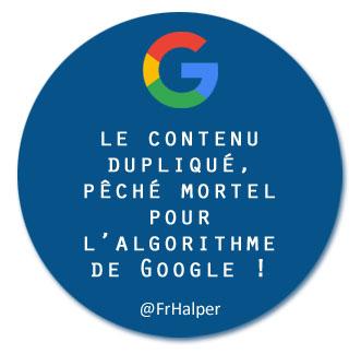 cKiou - Duplicate content Google