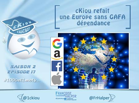 cKiou « refait une Europe sans GAFA-dépendance » avec Loïc Bardon : SOS French-Road !