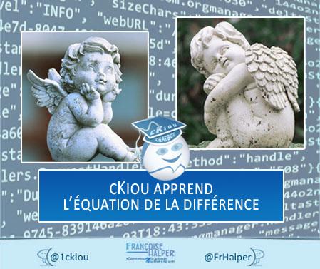 cKiou apprend l'équation de la différence