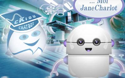 cKiou rencontre JaneCharlot, futur AVATAR pour le monde de la santé