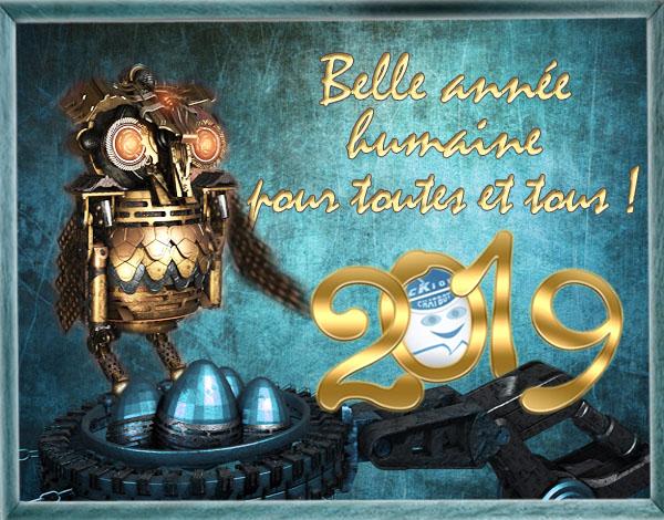 Nouvel An, cKiou nous dit comment les Humains se préparent une heureuse année