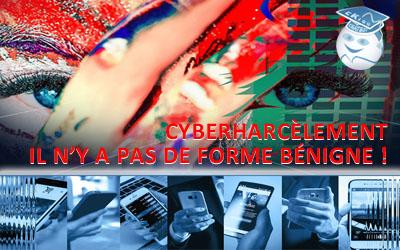 Cyberharcèlement, quelques constats, outils et solutions