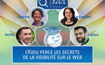 Découvrir avec cKiou les arcanes de l'optimisation web au SMX Paris 2018 !