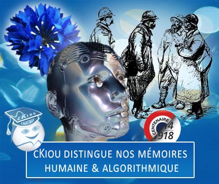 cKiou distingue la mémoire humaine et la mémoire algorithmique