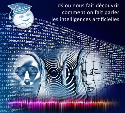 cKiou nous fait découvrir comment les Sciences du Langage font parler les Intelligences Artificielles